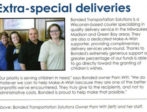 Bonded teams up with the Make a Wish Foundation!
